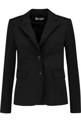 Tory Burch Marissa Cotton Blend Blazer Black