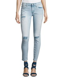 Hudson Krista Ankle Super Skinny Jeans Light Blue