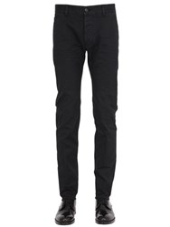 Dsquared 15.5Cm Twiggy Stretch Cotton Twill Pants