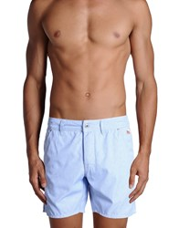 Roy Rogers Roy Roger's Swimwear Swimming Trunks Men Sky Blue
