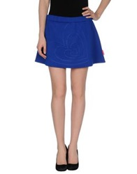 Agatha Ruiz De La Prada Mini Skirts Bright Blue