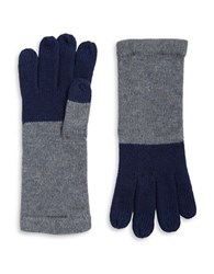 Miscellaneous Wool Blend Knit Touch Gloves Navy Blue
