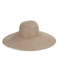 Eric Javits Large Wide Brim Sun Hat Bark