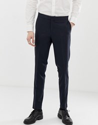 Lindbergh Suit Trousers In Navy
