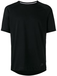 Nike Bonded Short Sleeve T Shirt Black
