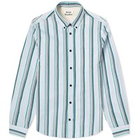 Acne Studios Sarkis Stripe Shirt Blue