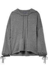 Splendid Hooded Knitted Sweater Anthracite