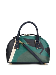Burberry Bloomsbury Orchard Print Small Bowling Bag