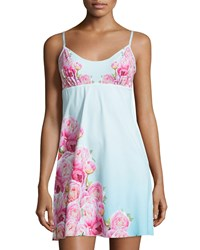 Commando The Photo Op Floral Print Chemise Peony Print Women's