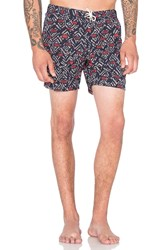 Scotch And Soda All Over Printed Swimshort Tribal