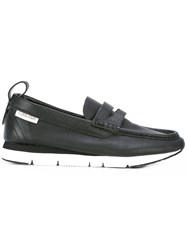 Calvin Klein Chunky Loafers Women Calf Leather Leather Rubber 41 Black
