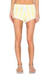 Wildfox Couture Gym Short Yellow