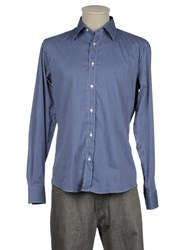 Robert Friedman Shirts Long Sleeve Shirts Men Blue