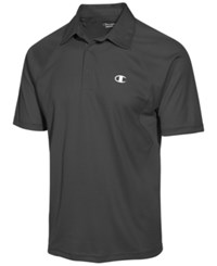 Champion Men's Vapor Performance Polo Shadow Gray