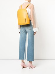 Louis Vuitton Vintage Epi Gobelins Backpack Yellow And Orange