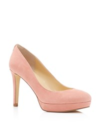 Ivanka Trump Kimo High Heel Platform Pumps Light Pink