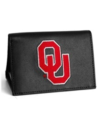Rico Industries Oklahoma Sooners Trifold Wallet Black