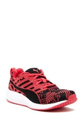 Puma Flare Woven Running Shoe Red