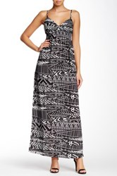 Necessary Objects Print Cami Maxi Dress Multi
