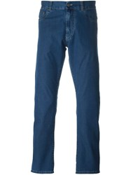 Canali Regular Jeans Blue
