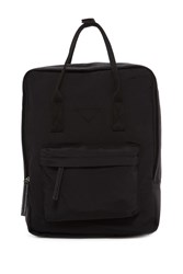 Madden Girl Solid Backpack Black