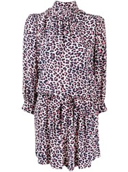Zadig And Voltaire Leopard Print Dress White