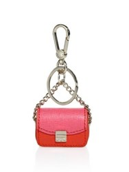 Furla Metropolis Satchel Key Ring Rose