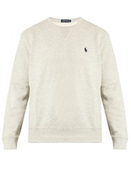 Polo Ralph Lauren Crew Neck Cotton Blend Sweatshirt Grey
