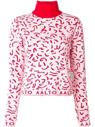 Aalto Turtle Neck Sweater Red