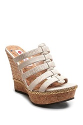 Two Lips Astor Wedge White