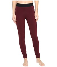 Adidas Sport Id Tights Maroon Women's Casual Pants Red