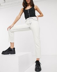 Cheap Monday Revive Bootcut Jeans White