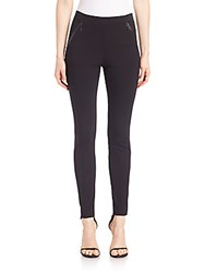 Elie Tahari Trian Pull On Leggings Navy