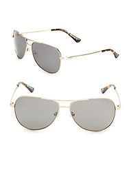 Revo Johnston 59Mm Aviator Sunglasses Gold