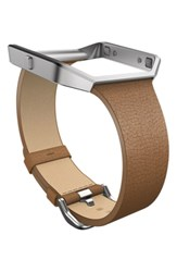 Fitbit 'Blaze' Slim Leather Accessory Band And Frame
