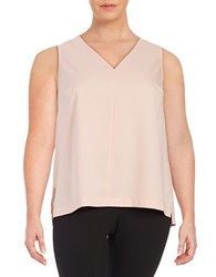 Lord And Taylor Plus Erica V Neck Shell Ballet Slippers