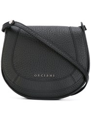 Orciani Saddle Bag Women Calf Leather One Size Black