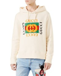 Gucci Cotton Sweatshirt W Logo Print Black