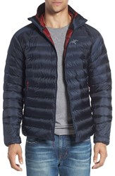 Arc'teryx Men's 'Cerium' Down Ripstop Hooded Jacket Admiral