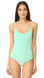 Tori Praver Swimwear Solids Honolua Swimsuit Patina