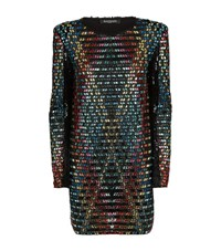 Balmain Embellished Tulle Dress Female Multi