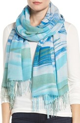 Nordstrom Women's Painted Dream Wool And Cashmere Scarf