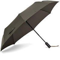 London Undercover Auto Compact Umbrella Green