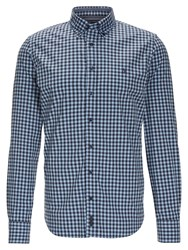 Marc O'polo Button Down Shirt Blue