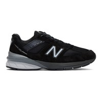 New Balance Black And Silver Us Made 990 V5 Sneakers