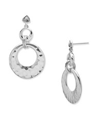 Judith Jack Marcasite And Sterling Silver Circle Earrings
