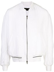 Haider Ackermann Bomber Jacket White
