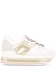 Hogan H516 Platform Sneakers White