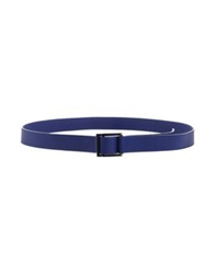 Fabrizio Mancini Belts Bright Blue