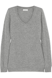Chinti And Parker Boyfriend Cashmere Sweater Gray